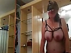 Real Homemade Chubby Mature Slut Rides Cock