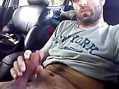 Hot hairy indian man cuming