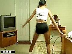 Skinny Chick With Hula Hoop - spankbang.org