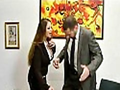 Submissive office busty assistant finally fucks her do mobol 13