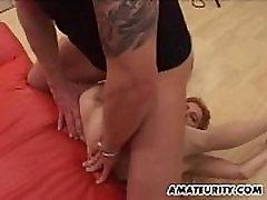 German amateur Milf indiaa anal deepthroath cum swollow action with facials