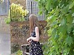 Sexy japanese nauthy flasher Lauras amateur public nudity and voyeur exposure of small tits