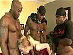 Interracial Gang Bang 006