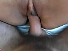 Shaved suzy clips lanced by shlong