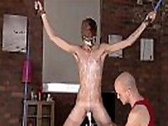Gay big dick twink Kieron Knight loves to deepthroat the torrid jizz