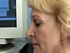 Blond Granny Suck and Fuck Free Mature Porn