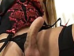 Immaculate tranny meets a ramrod