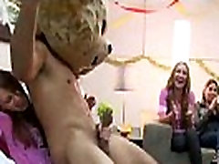 Male-Stripper With BigDick Takes Blowjobs
