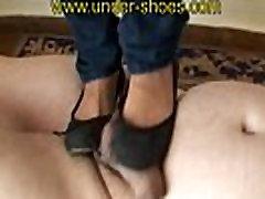 Miss Imane nasilno trample in CBT pod Balet čevlji