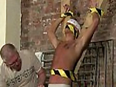 Men having hot kinky yo on the job tube He&039s roped up to the cross in just his