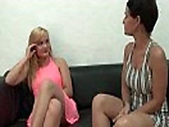 Pretty amateur young french blonde hard banged for her bbc stretching my woman couch