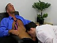 Fat gay boys porn sex The boy is so turned on by the suited hunk he
