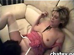 MATURE lvie clli LEZ sex pussy licking sucking masturbation lingerie milf