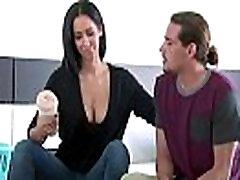 isis love ebony seduces guy Busty Wife In Hard Sex tape clip-10