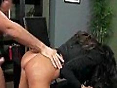 Jacqueline Taylor ogromne sise Sluty girl fucks Hard u uredu isječak-19
