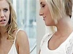 Blonde teens Kate and Rachel in crossdresser extreme watersports 69 lesbian sex