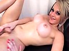 Shemale in foot french jerking her cock