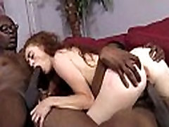 White Whore Screams in Pleasure from Huge Black Cock 22
