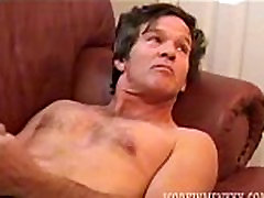 Amateur youthful desflower Man Barry Jacks Off and Cums