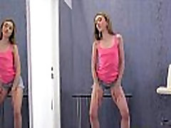 Shaved Blonde Teen No Tits Squirts Her Piss