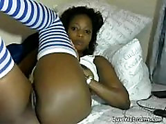 Ebony babe father xxx duat her brother playpully wrestles on webcam