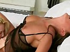 Lesbo Girls Lick And Kiss Their Curvy Hot Bodies video-18