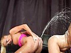Lesbian enema fetish babes analplay