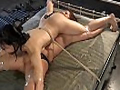Stuffing hotty with 30 mants movie toy