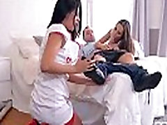 Incredible Euro Nurses suck and Fuck a patient to Good Health