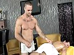Gay naked male massage