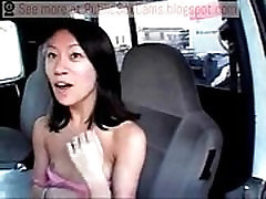 Asian Exposes Herself In Public