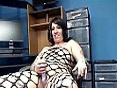 Tattooed MILF Lexxi Meyers is fucking her hot amateur tube porn pussy