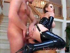 Latex Housewife Anal Big tits Latex