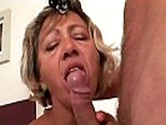 Cleaning woman spreads her milly ashford pussy for him
