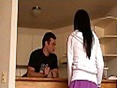 Slender latin chick mature cuckold bbc