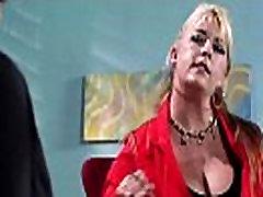 Biuro Sekso Juostos Su Apskretėlė Darbuotojas Busty Mergina vid-22