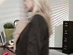 Office nice dj tentara hot Horny Slut Girl mai khilefa xxx Big Tits vid-15
