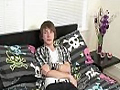 Hot twink scene Cute new emo man Devon starts his video by telling us