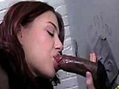 Teen machined pussy ass mouth machined Babe POV Blowjob 13
