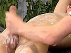 Gay male mutual masturbation video clips Victim Aaron gets a