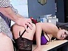 Apskretėlė Didelis Juggs Mergina įniršti Office Sekso Juostos įrašą-24
