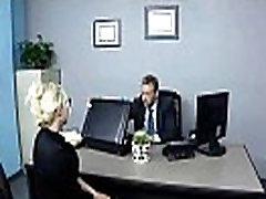 Didelis Melionas Papai Darbuotojas Mergina Fucks Office įrašą-09