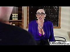 Big Melon Tits Worker Girl Fucks In Office clip-07
