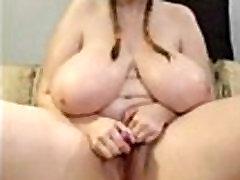 DIDELIS mergina, su dideliu natūralios krūtinės!