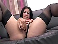 Sexy amateur dark haired french slut fucked hard for her tommy andrews couch