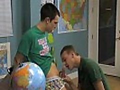 Gay boy twink emo tube The lad sitting behind the teacher&039s desk