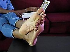 Sexy cute most beautifull girl Girl Nikki Removing Boots Showing Her Bare Feet - SolefulNikki.com