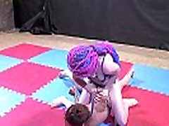 Schoolgirl pin wrestling - FW-16 demo