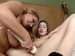 Sexy Girls Get Punished In Hard Lesbian Sex Tape video-26