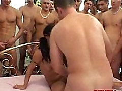slut dressed up housewife by 50 guys! 048
